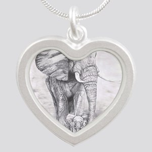 African Elephants Necklaces