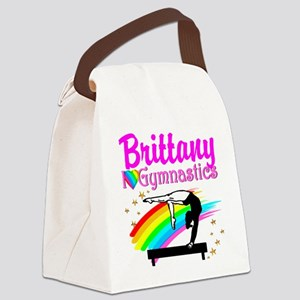 LOVELY GYMNAST Canvas Lunch Bag