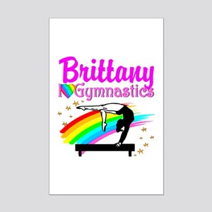 LOVELY GYMNAST Mini Poster Print