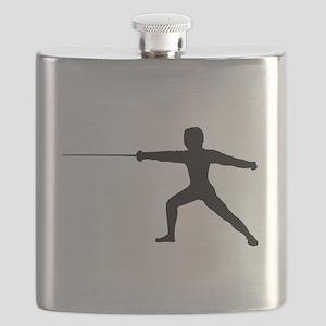 Guy Fencer Flask