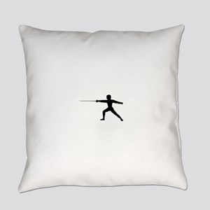 Guy Fencer Everyday Pillow