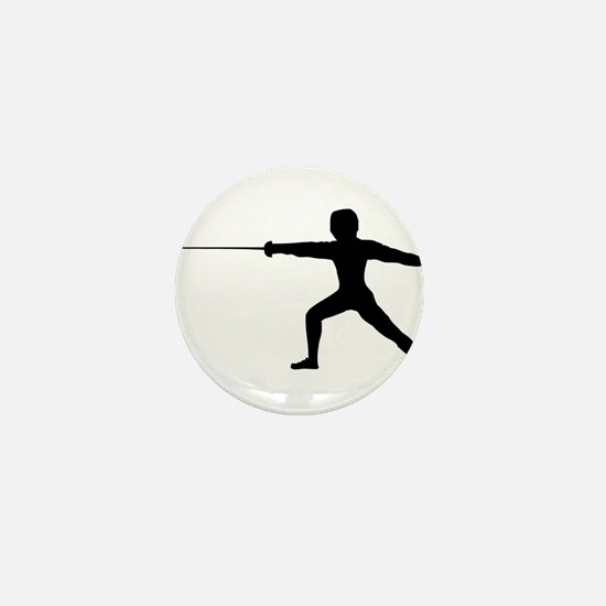 Guy Fencer Mini Button