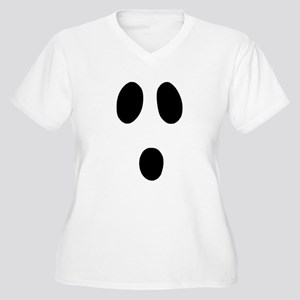 Boo Face Plus Size T-Shirt