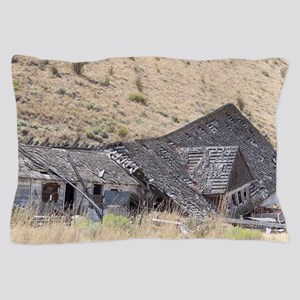 Ghost Town Ruins Pillow Case