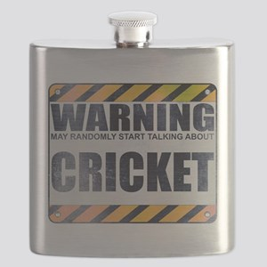 Warning: Cricket Flask