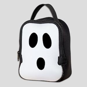 Boo Face Neoprene Lunch Bag