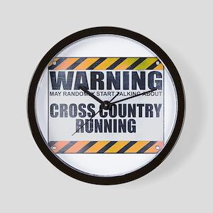 Warning: Cross Country Running Wall Clock