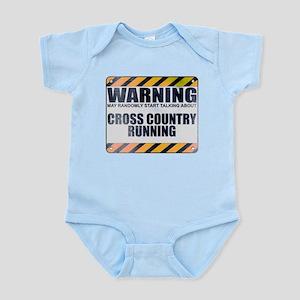Warning: Cross Country Running Infant Bodysuit