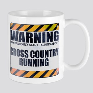 Warning: Cross Country Running Mug