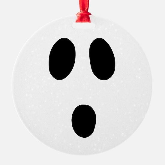 Boo Face Ornament