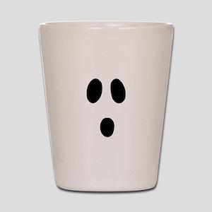 Boo Face Shot Glass