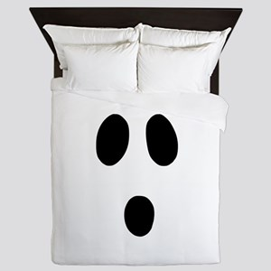 Boo Face Queen Duvet