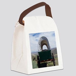 Oregon Trail Canvas Lunch Bag
