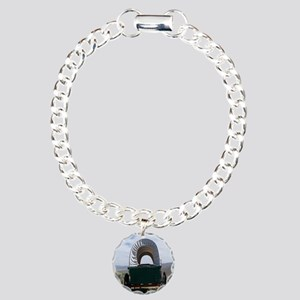 Oregon Trail Charm Bracelet, One Charm