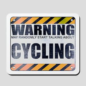 Warning: Cycling Mousepad