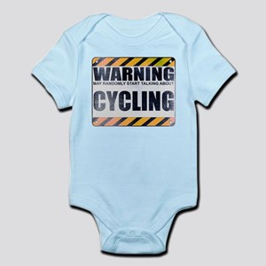 Warning: Cycling Infant Bodysuit