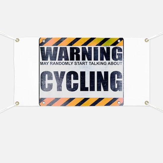 Warning: Cycling Banner
