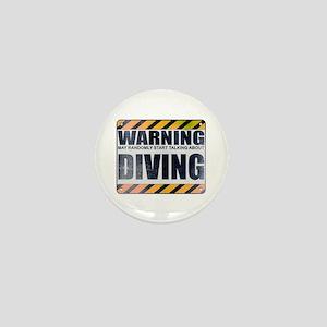 Warning: Diving Mini Button