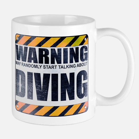 Warning: Diving Mug