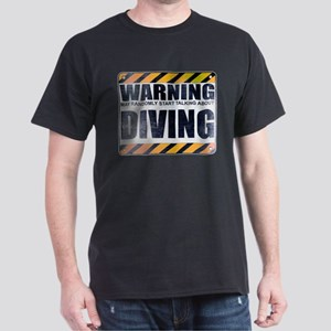 Warning: Diving Dark T-Shirt