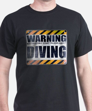 Warning: Diving T-Shirt