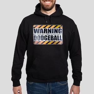 Warning: Dodgeball Dark Hoodie