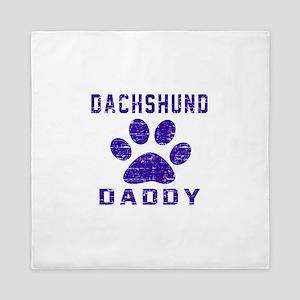 Dachshund Daddy Designs Queen Duvet
