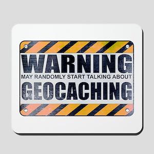 Warning: Geocaching Mousepad
