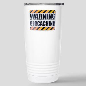 Warning: Geocaching Ceramic Travel Mug