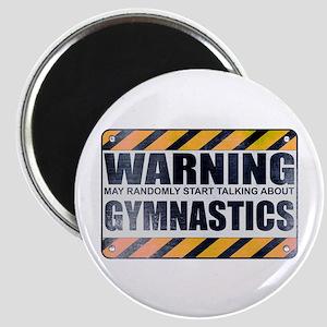 Warning: Gymnastics Magnet