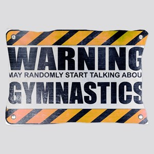 Warning: Gymnastics Pillow Case
