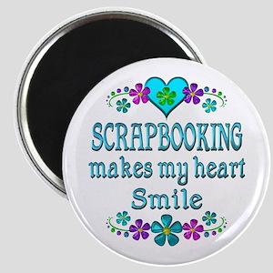 Scrapbooking Smiles Magnet