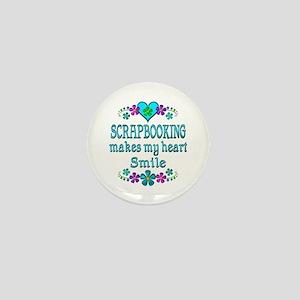 Scrapbooking Smiles Mini Button