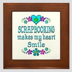 Scrapbooking Smiles Framed Tile