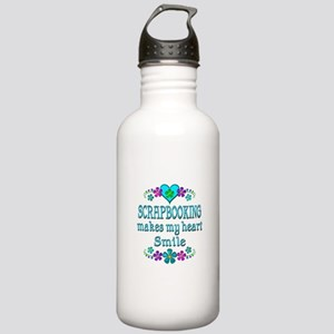 Scrapbooking Smiles Stainless Water Bottle 1.0L
