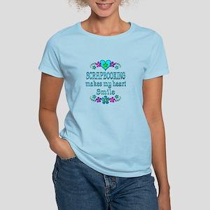 Scrapbooking Smiles Women's Light T-Shirt
