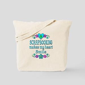 Scrapbooking Smiles Tote Bag
