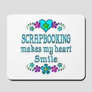 Scrapbooking Smiles Mousepad