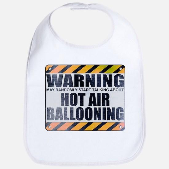 Warning: Hot Air Ballooning Bib
