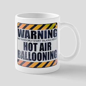 Warning: Hot Air Ballooning Mug