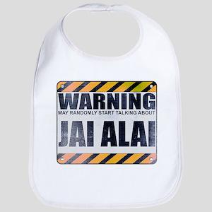 Warning: Jai Alai Bib