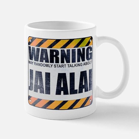 Warning: Jai Alai Mug