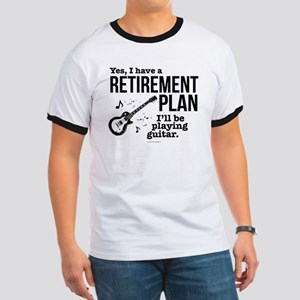 Guitar Retirement Plan T-Shirt
