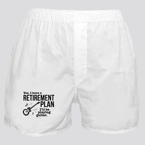 Guitar Retirement Plan Boxer Shorts