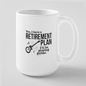 Guitar Retirement Plan Mugs