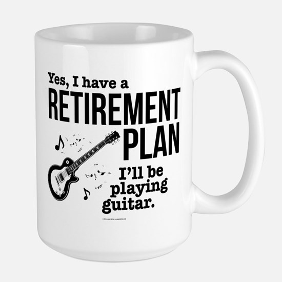 Guitar Retirement Plan Mugs