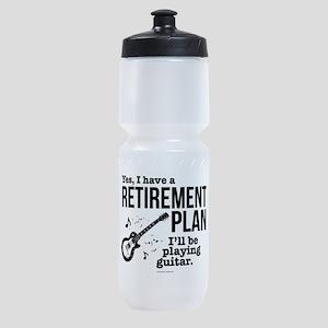 Guitar Retirement Plan Sports Bottle
