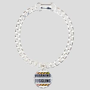 Warning: Juggling Charm Bracelet, One Charm