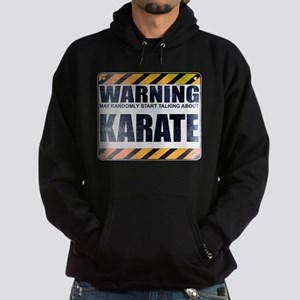 Warning: Karate Dark Hoodie
