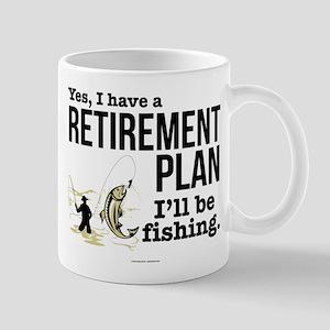 Fishing Retirement Plan Mugs
